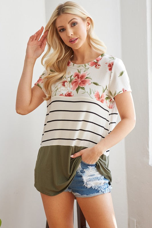 Lead Character Floral Top