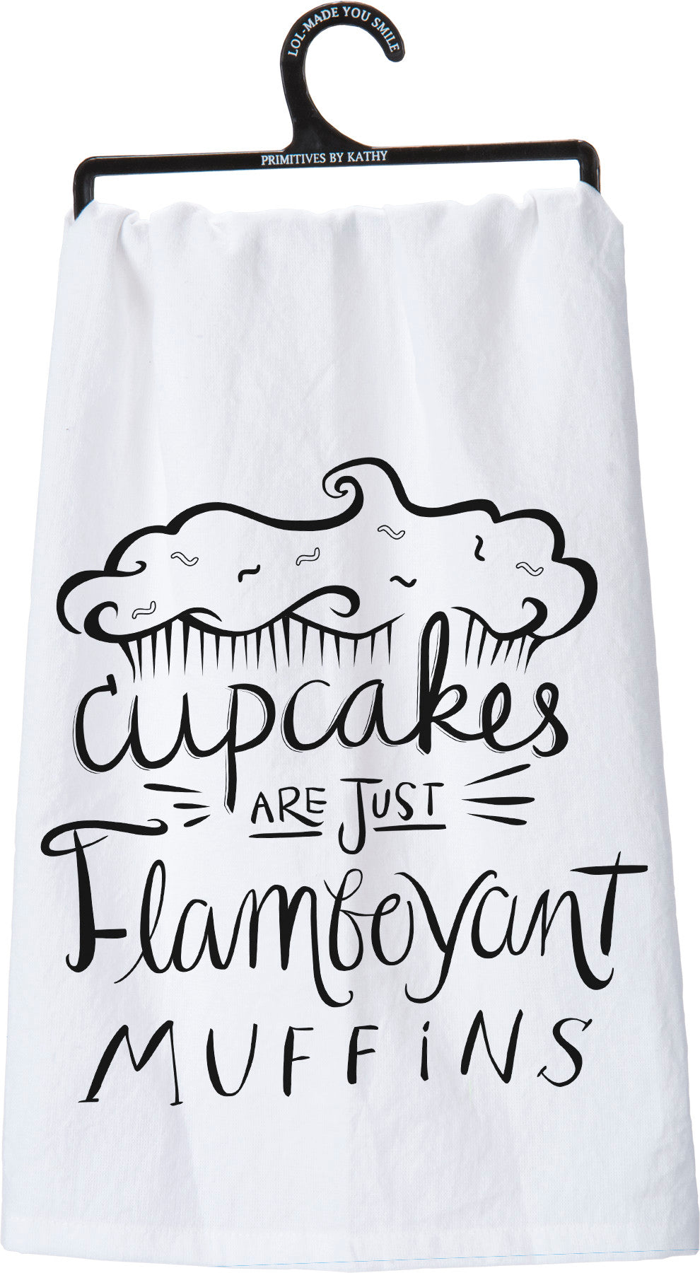 Dish Towel - Cupcakes Are Just Flamboyant Muffins