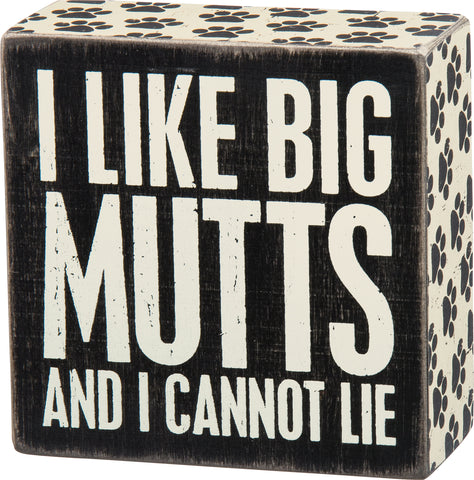 Box Sign - Big Mutts