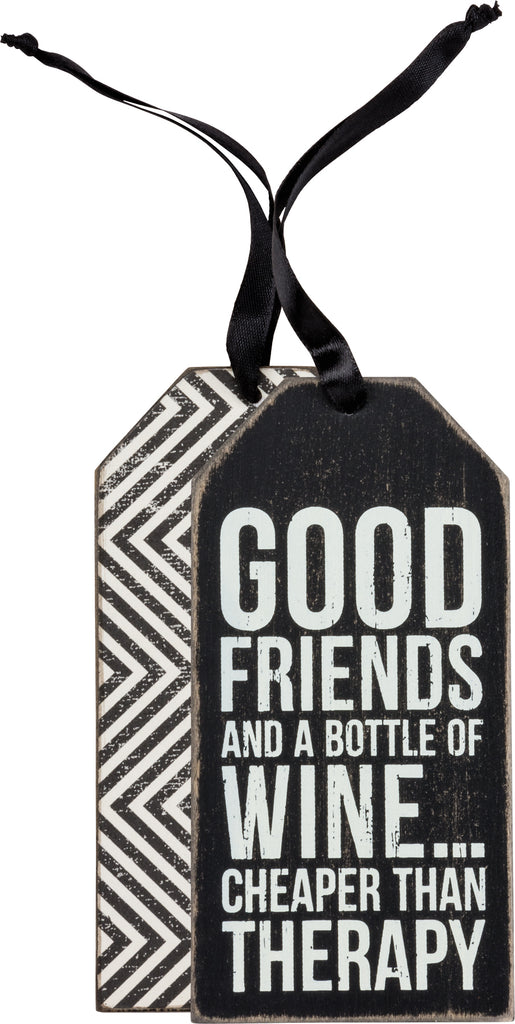 Bottle Tag - Good Friends