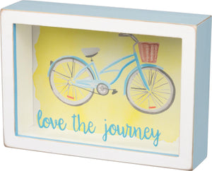 Box Sign - Love the Journey
