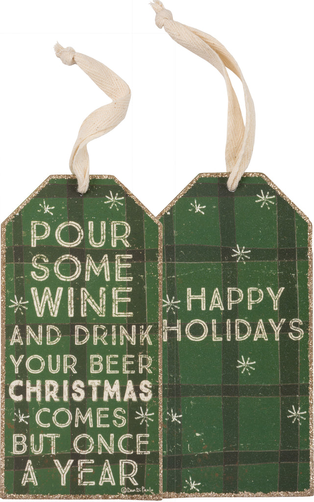 pour some wine - wine tag