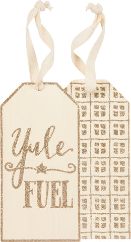 Bottle Tag - Yule Fuel
