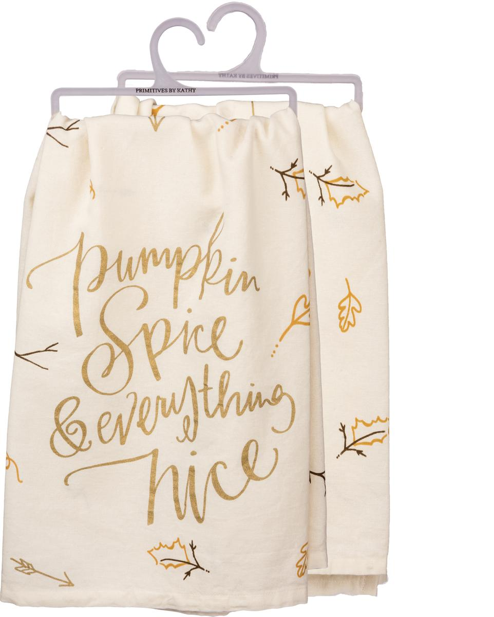 Dish Towel - Pumpkin Spice and Everything Nice
