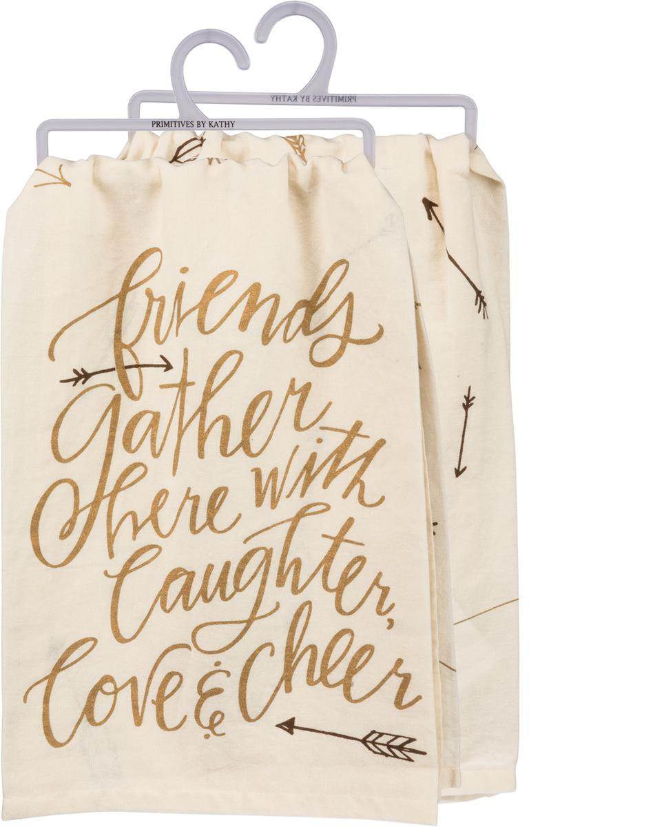 Dish Towel - Friends Gather Here