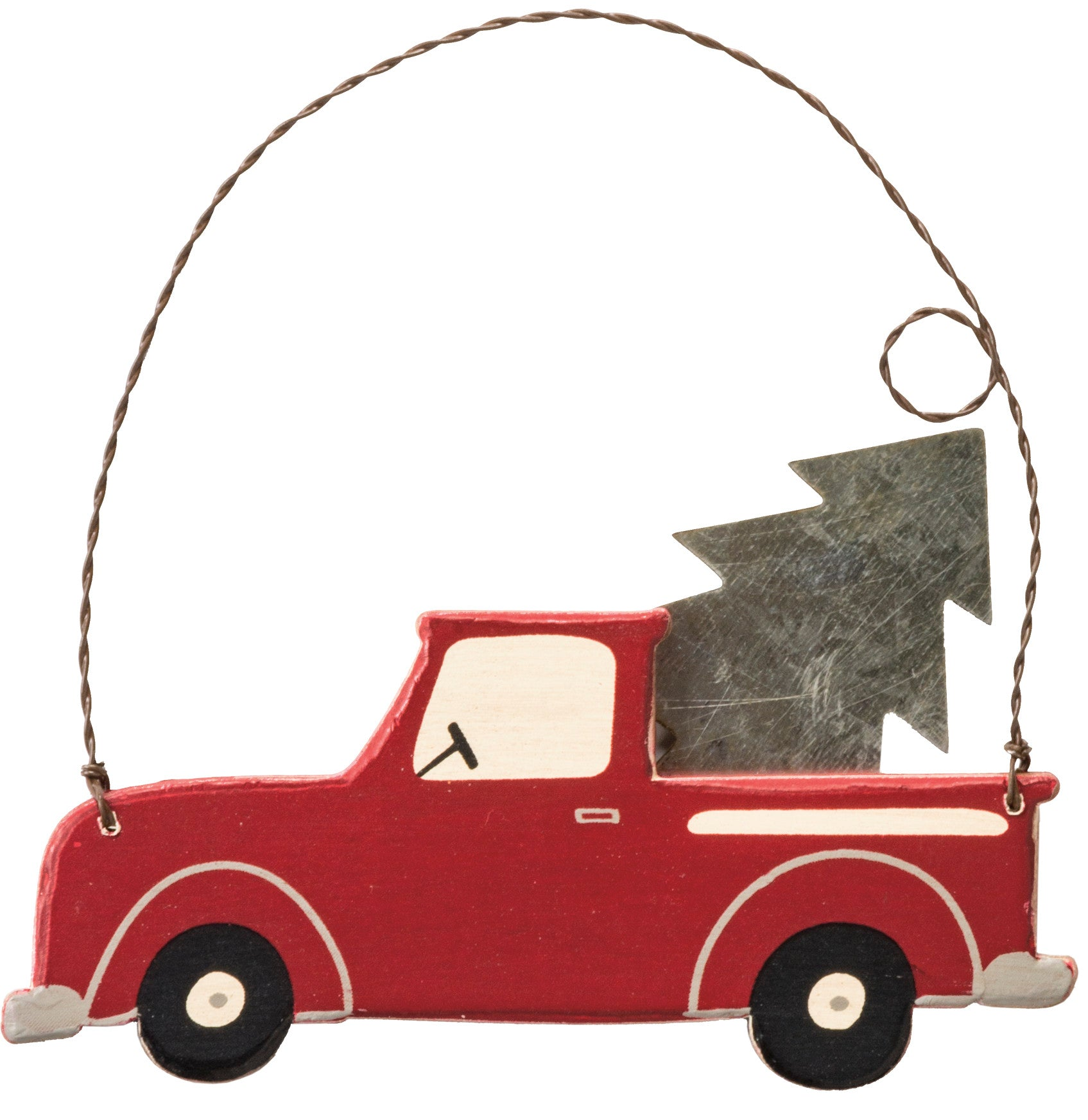 Ornament - Red Truck