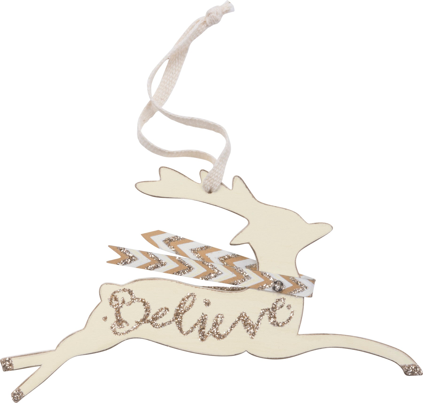 Ornament - Believe Deer