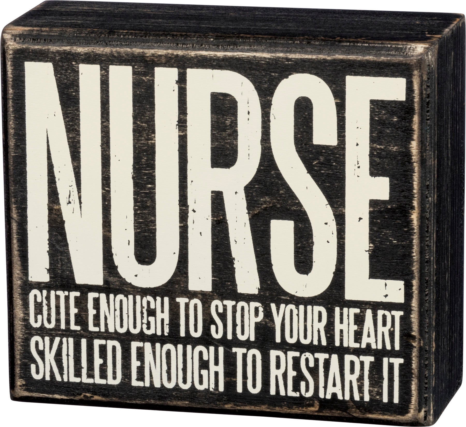 Box Sign - Nurse