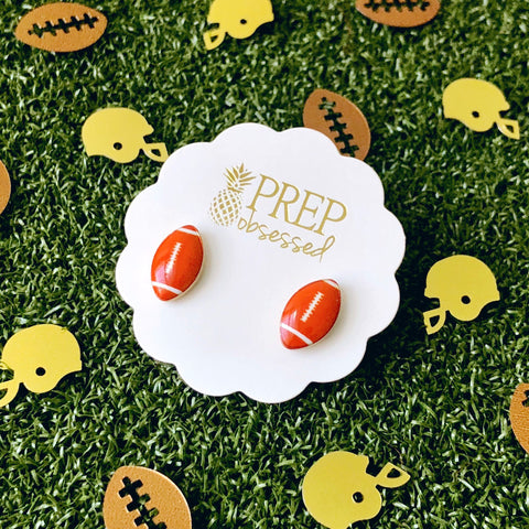 Football Prep Obsessed Earrings