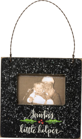 Mini Frame - Santa's Little Helper