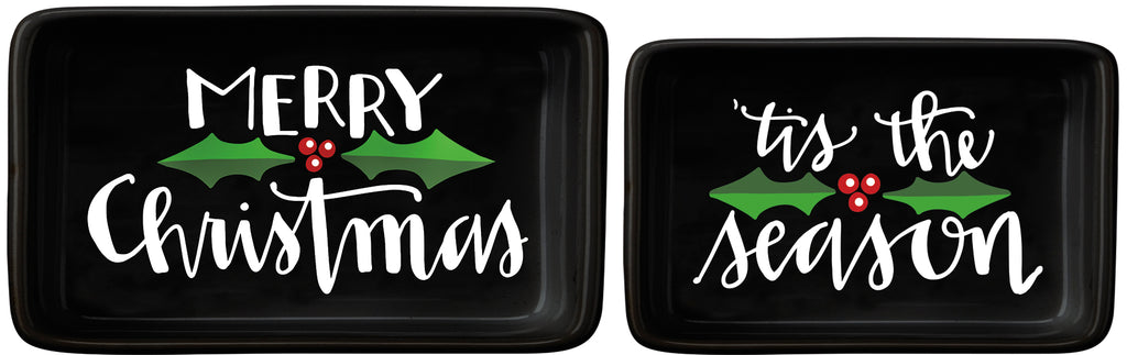 christmas tray decor