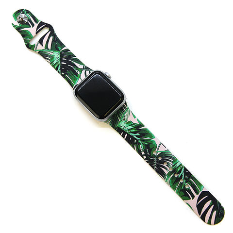 Watch Band - Tropical Leaves