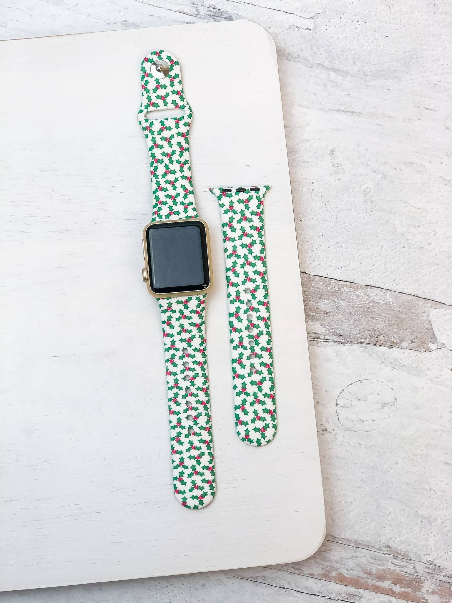 Holly Silicone Smart Watch Band