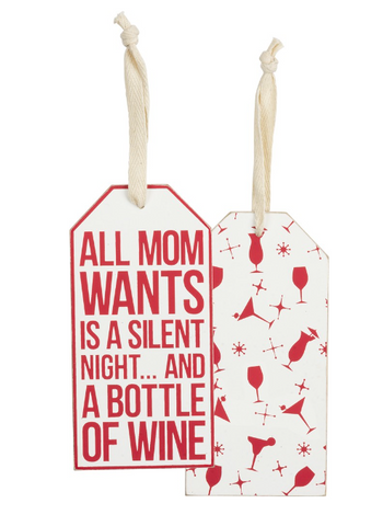 Bottle Tag - All Mom Wants