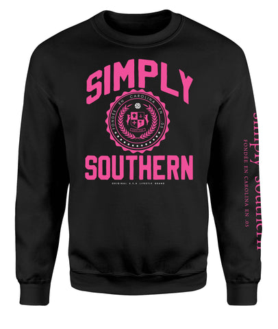 Simply Southern Crest Crewneck Sweatshirt