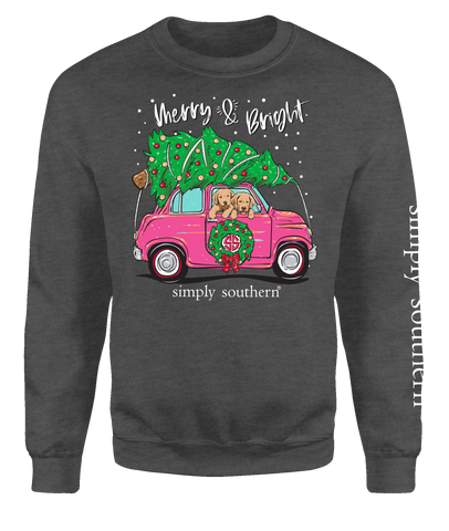 Merry & Bright Crewneck Sweatshirt
