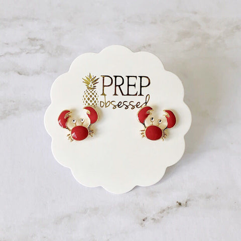 Crab Prep Obsessed Earrings