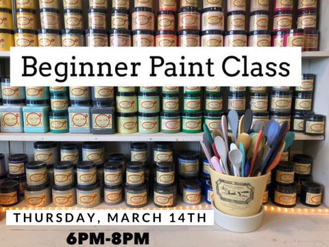 Basic Dixie Belle Painting Class - March 14th