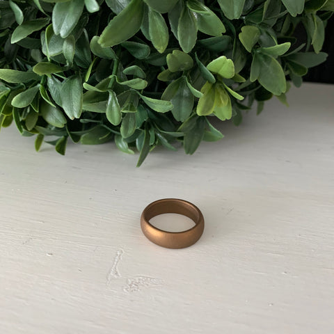 Bronze Silicone Ring