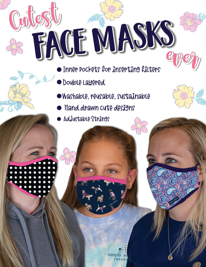 Simply Southern Adult Face Masks