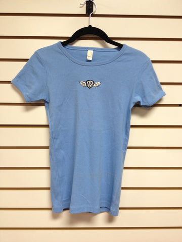 Blue VW Angel T-shirt