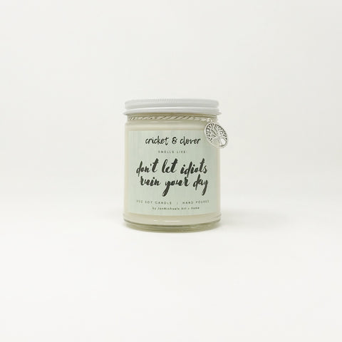 HMM - Ruin Your Day Jar Candle