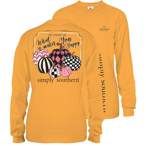 """Do More of What Makes You Happy"" Long Sleeve Tee"