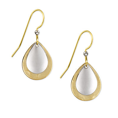 Silver & Gold Dangle Earrings