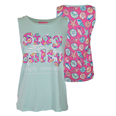Simply Tank Top - Shell