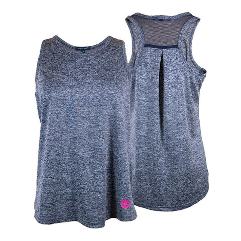 Sport Tank - Heather Navy