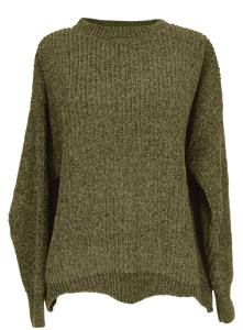 Wave Sweater - Green