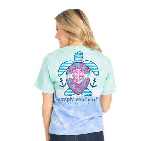 Nautical Turtle Short Sleeve Shirt
