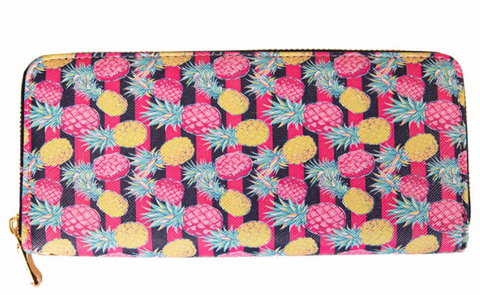 Pineapple Striped Wallet