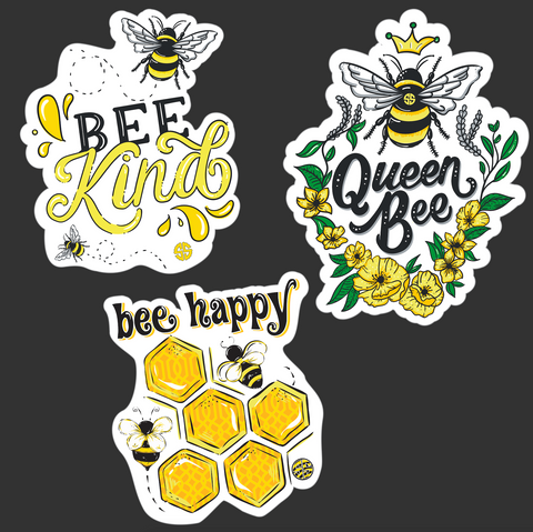 Sticker Pack - Bee