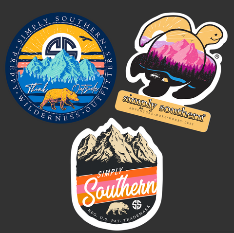 Sticker Pack - Mountain