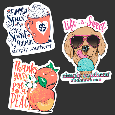 Sticker Pack - Spice Sweet