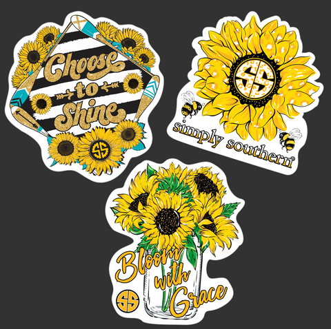 Sticker Pack - Sunflower
