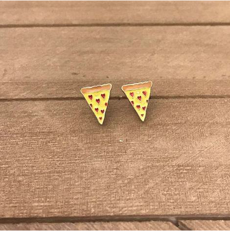 pizza prep obsessed earrings