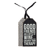 Good Friends Bottle Tag