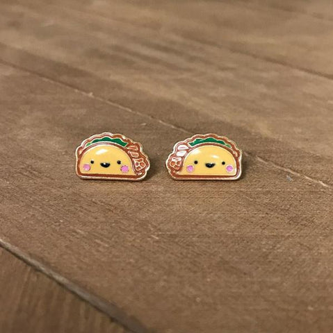 Smiling Taco Prep Obsessed Earrings