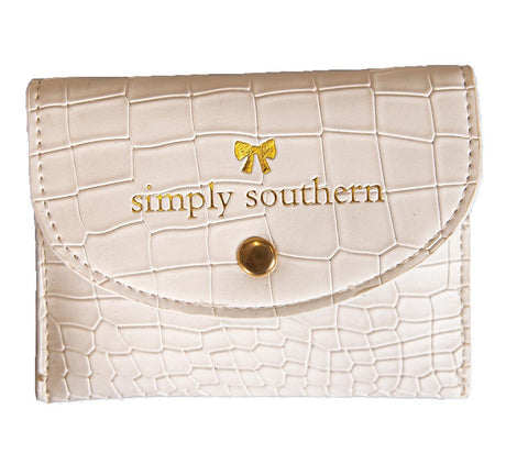 Small Card Holder - White