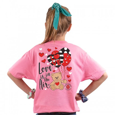 'Love Is In the Air' Youth Short Sleeve Tee