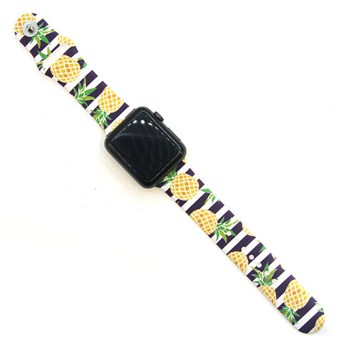 Watch Band - Pineapple Stripes