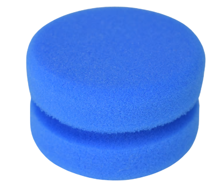 blue sponge chalk paint