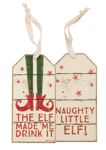 Bottle Tag - The Elf
