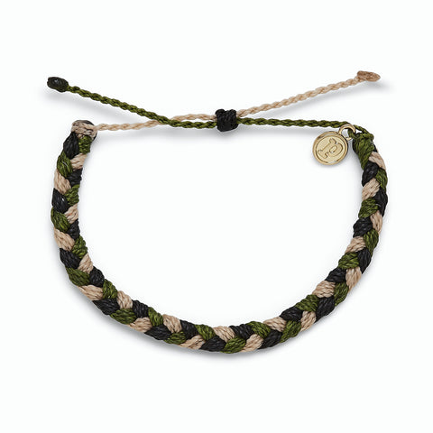 Charity Camo Thick Braided Bracelet