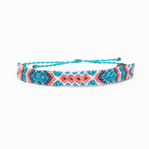 Friendship Macrame Bracelet - Blue