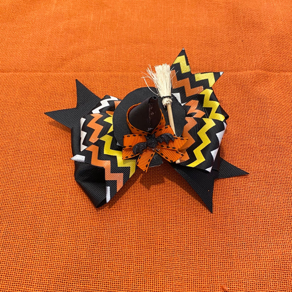 3 in 1 Black Witch Bow