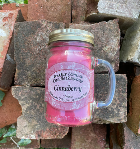 Cinnaberry Mason Candle