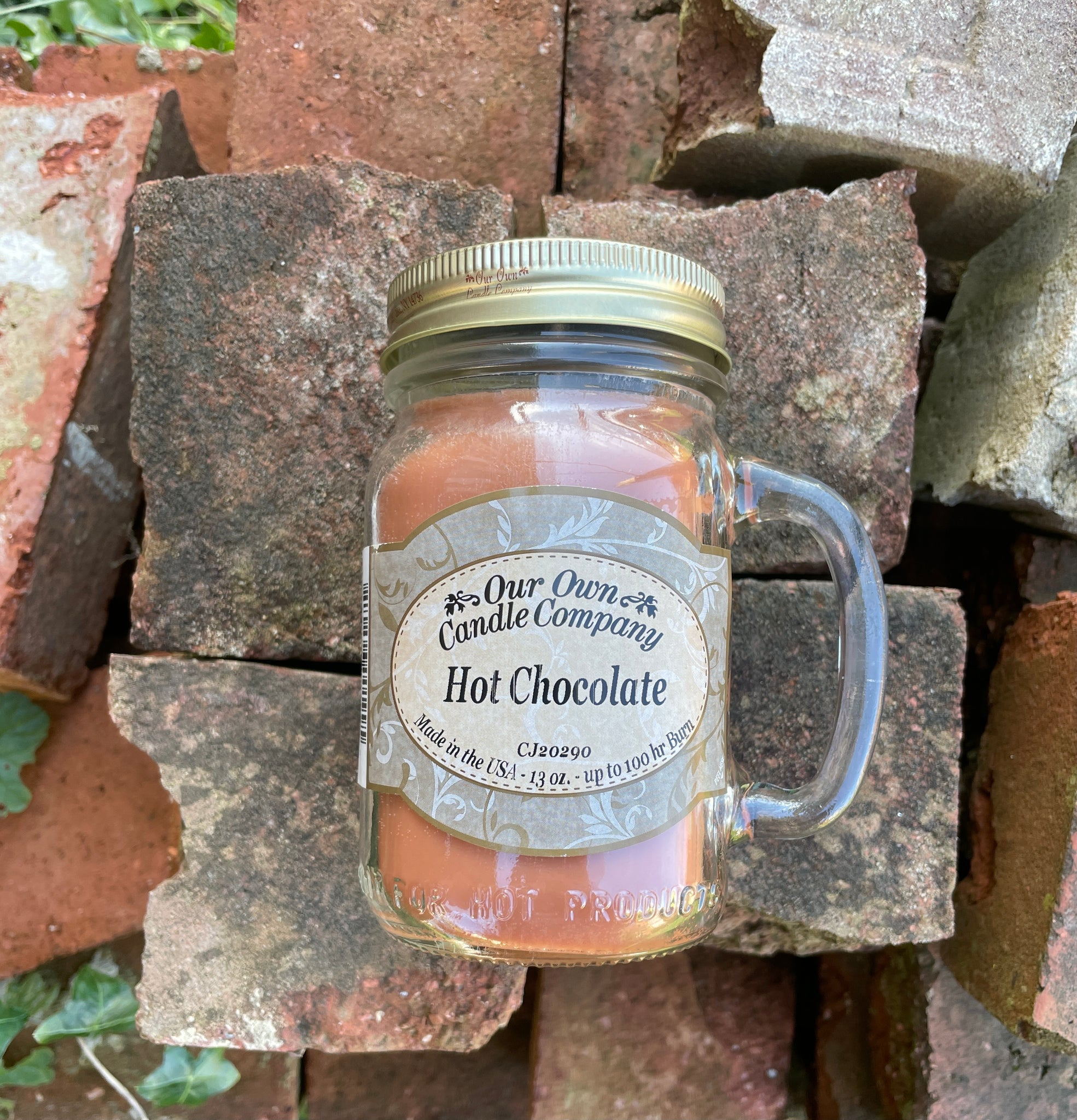 Hot Chocolate Mason Candle